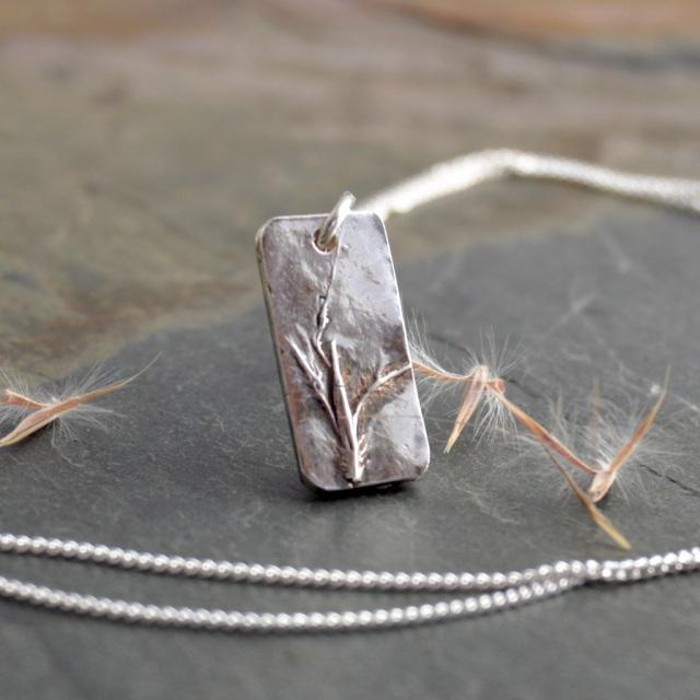 prairie grass seed jewelry from Kansas
